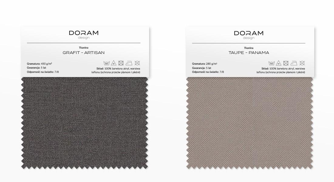 Próbki tkanin - wybierz kolor