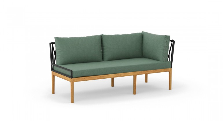 Monako sofa narożna 2os.