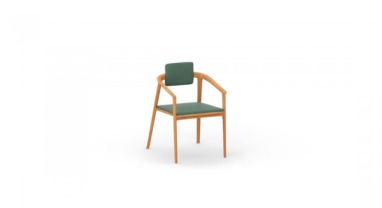 Monako krzesło teak Lux